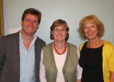 Robin Willims, Dee, and Moira Farnham